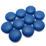10ks Tmavě modré lentilky plastové