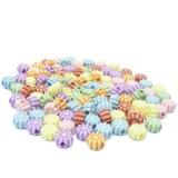 10g Malé kytičky – plastové korálky barevný mix