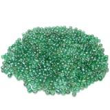10g Skleněné korálky 2mm – zelený rokajl