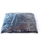 450g Skleněné korálky 2mm – černý rokajl