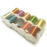 10ks Drátek 0,3 mm/10m mix barev