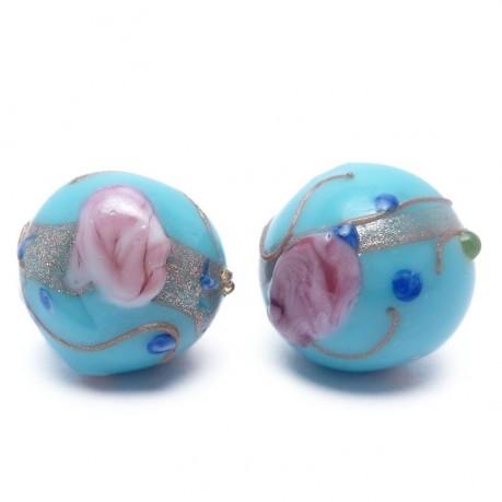 Ručně vinuté perle pár č. 1
