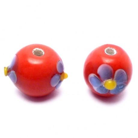 Ručně vinuté perle pár č. 5