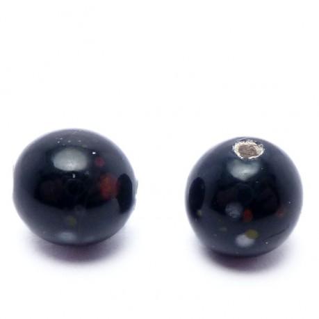 Ručně vinuté perle pár č. 8