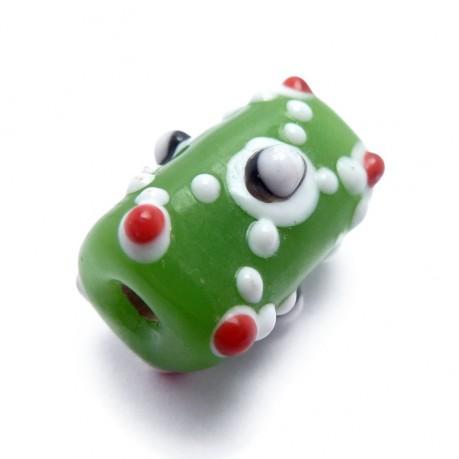 Vinutá perle (zelená)