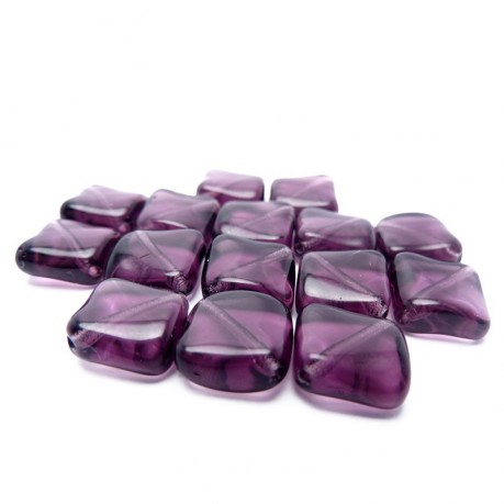 Mačkané kosočtverce (fialové)