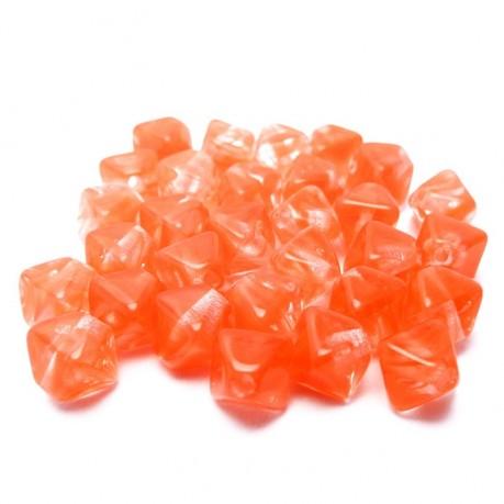 Mačkané lucerničky (oranžové)