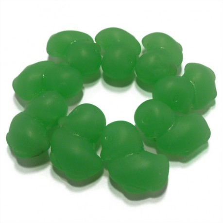 Mačkané kachničky (zelené)