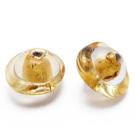 Vinuté tvarované perle  (zlaté)