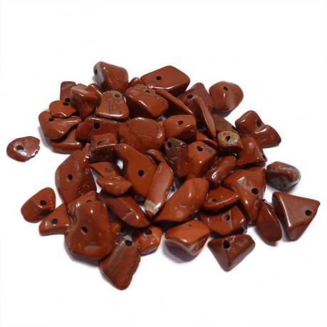 Zlomky z minerálů (hnědé)
