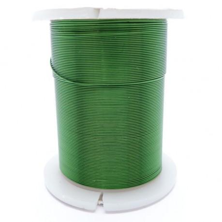 Drátek 0,3 mm zelený 10m