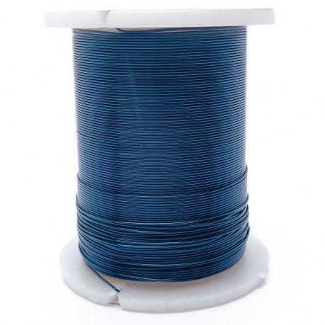 Drátek 0,3 mm modrý 10m