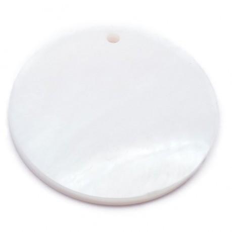 Přívěšek z perletě cca 3cm č. 6